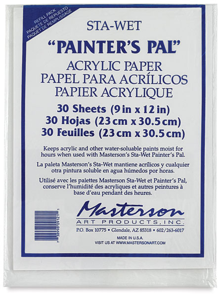 Acrylic Film, Package of 30