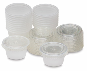 Air-tight Paint Cups, Package of 20