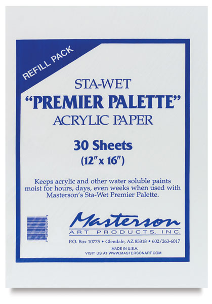 Acrylic Sheets, Pack of 30
