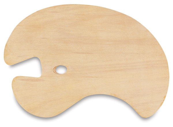 Wooden Palette, for Right Hand