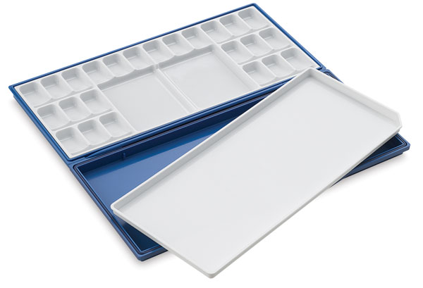 Airtight Watercolor Palette, 24 Wells