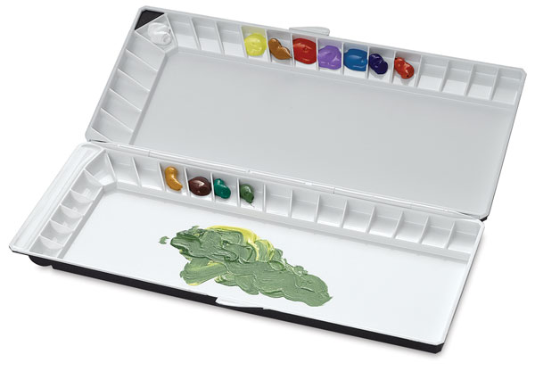 Silver Nano Watercolor Palette