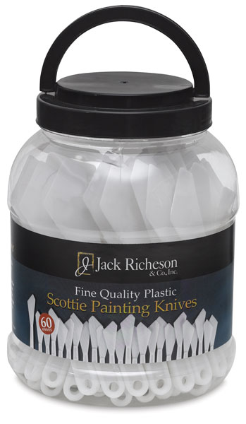 Canister of 60, Large Painting Knives