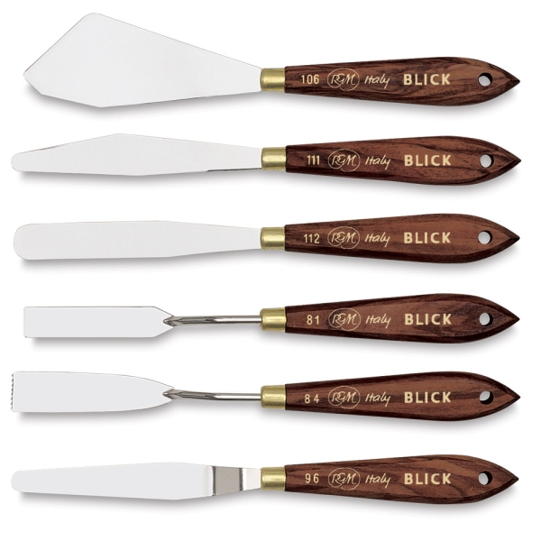 Spatulas, Set of 6