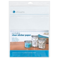 Silhouette Printable Sticker Paper