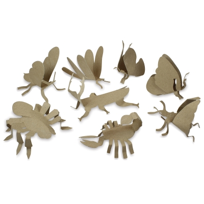 Insect Sculptures, Pkg of 24