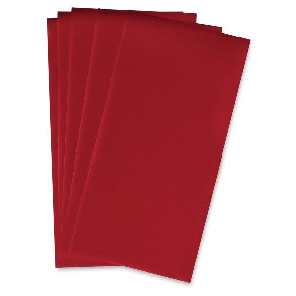 Red, Package of 5 Sheets