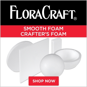 FloraCraft Smooth Foam Crafter's Foam