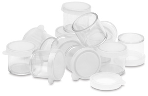 Plastic Storage Container, Multi-Pack of 12