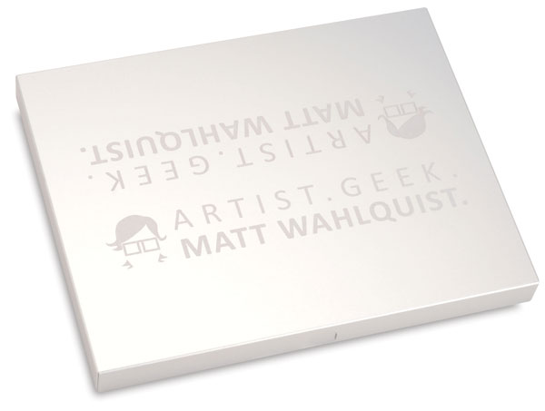 Example of Laser Etching on Presentation Box