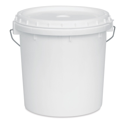 Plastic Bucket with Lid, Gallon
