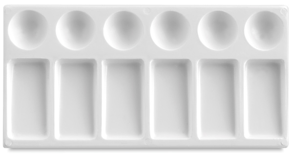 "Plastic Palette Tray, 4¼"" × 7½"""