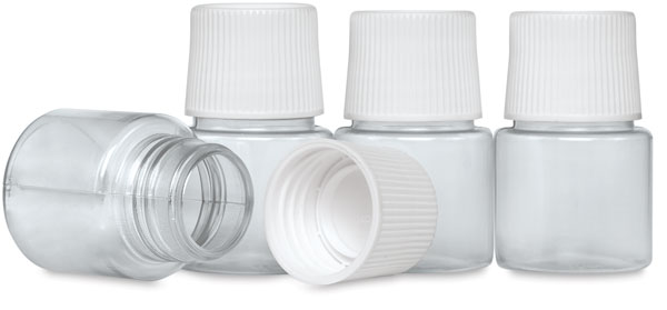 Pebeo Vitrail Mixing Bottles, Set of 4, 45 ml each