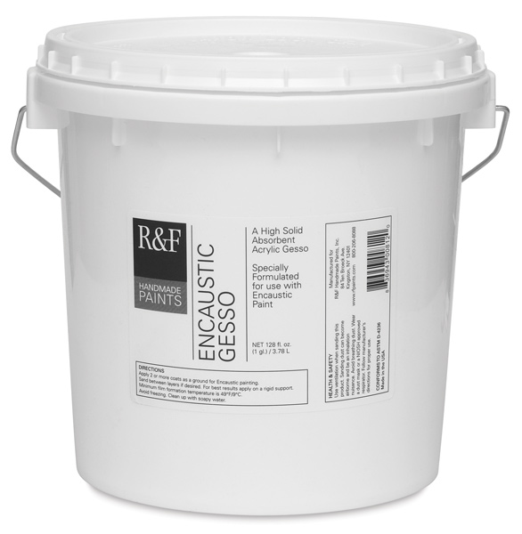 Encaustic Gesso, Gallon Pail