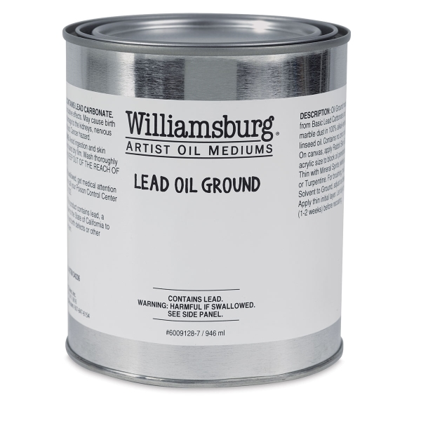 Lead Oil Ground, 946 ml Can