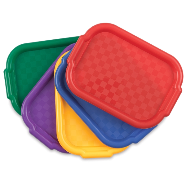 Richeson Multicolor Art Trays, Set of 5