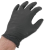 Black Vinyl Gloves, Pkg of 10