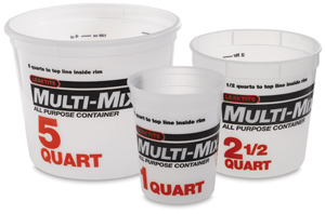 Multi-Mix Plastic Tubs