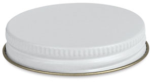 Screw-on Metal Cap, Fits 2 oz Jar