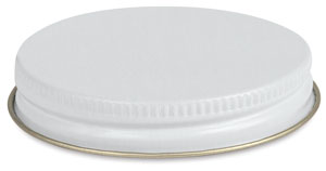 Screw-on Metal Cap, Fits 4 oz Jar