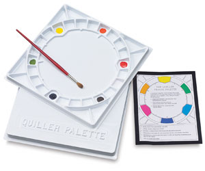 Quiller Color Wheel Palette