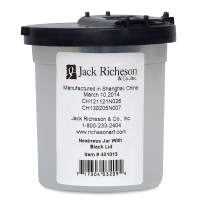Neatness Jar, Black Lid