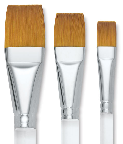 Series 995 Flat Wash Brushes