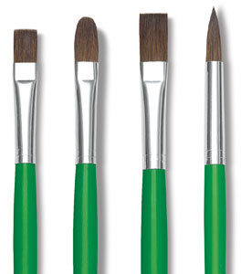 Economy Sable Brushes