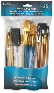 Craft Brush Value Set of 25