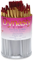 Dynasty Fine Ruby Synthetic Brushes