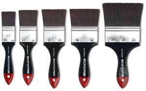 Top Acryl Restoration Mottler Brushes