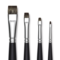Short Bright Brushes