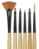 Dynasty Black Gold Decor Mini Brush Sets