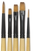 Decorative Mini Detail Brushes, Set of 5