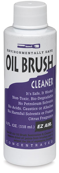 Oil Brush Cleaner, 4 oz