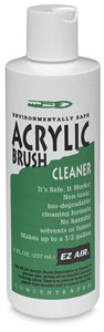 Acrylic Brush Cleaner, 8 oz