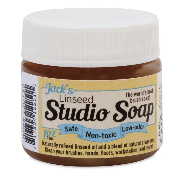 Linseed Studio Soap, 1 oz