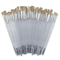 Tynex, Flats, Long Handle, Set of 60