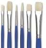 Blick Scholastic White Hog Bristle Set