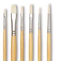 Blick Academic White Bristle Combination Sets