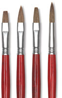 Escoda Bravo Light Ox Hair Brushes