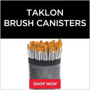 Taklon Brush Canisters