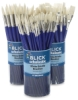Blick Scholastic White Bristle Canisters