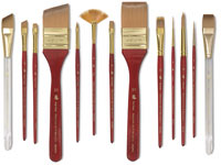 Princeton Series 4050 Heritage Synthetic Sable Brushes