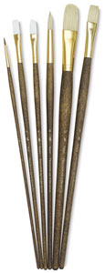 Combination Set of 6 Brushes (#9148)