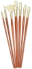 Bristle Brushes, Set of 7 (#9154)