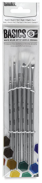 Basics Brushes, Set of 6