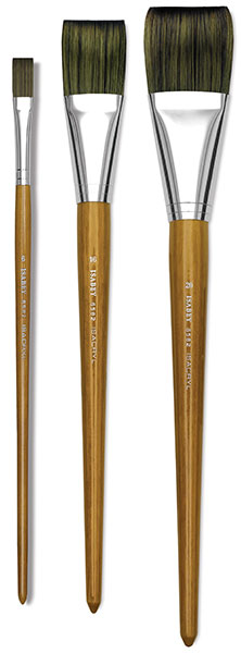Long Flat Brushes