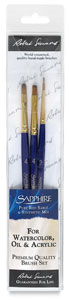 Sapphire Pack W, Set of 3 Brushes