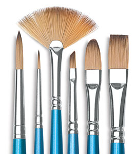 Cotman Watercolor Brushes, Set of 6